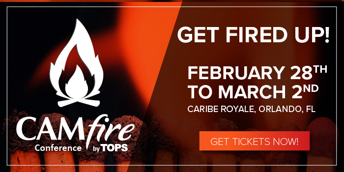 Get Fired Up for the CAMfire Conference!