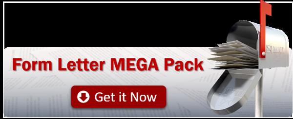 Download this mega pack of sample form letters