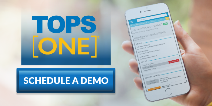Request a TOPS [ONE] Demo Today!