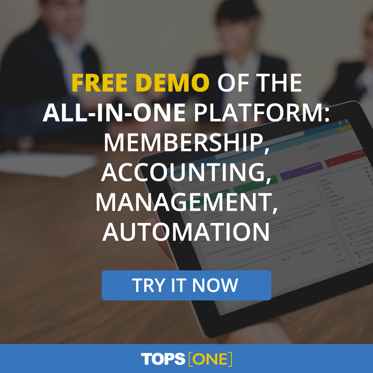 All In One Community Association Management Software