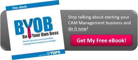 Be Your Own Boss in Community Association Management