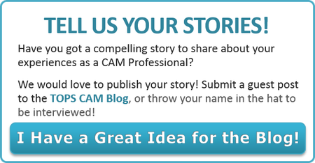 Share your story on the TOPS CAM Blog!