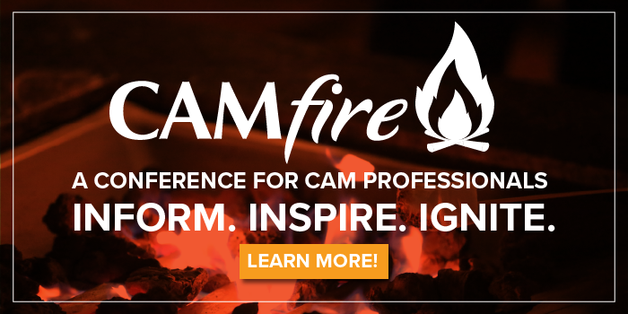 CAMfire: A Conference for CAM Professionals