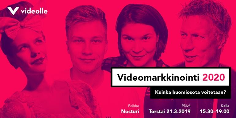 Videomarkkinointi 2020