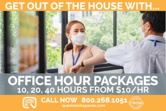quest workspaces office hour packages