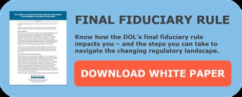 Summary of DOL Fiduciary Rule