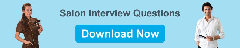 Download Salon Interview Questions