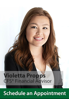 Violetta Propps, Financial Advisor