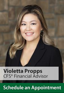 Violetta Propps, Financial Advisor
