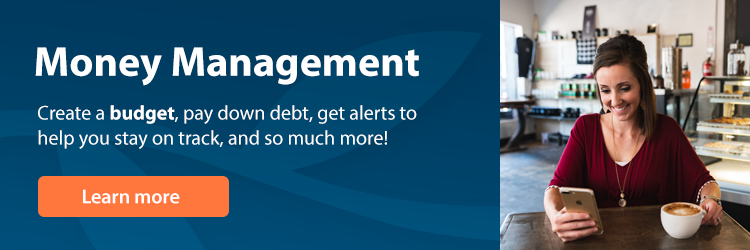 Money Management: Create a budget, pay down debt, get alerts to help you stay on track, and so much more