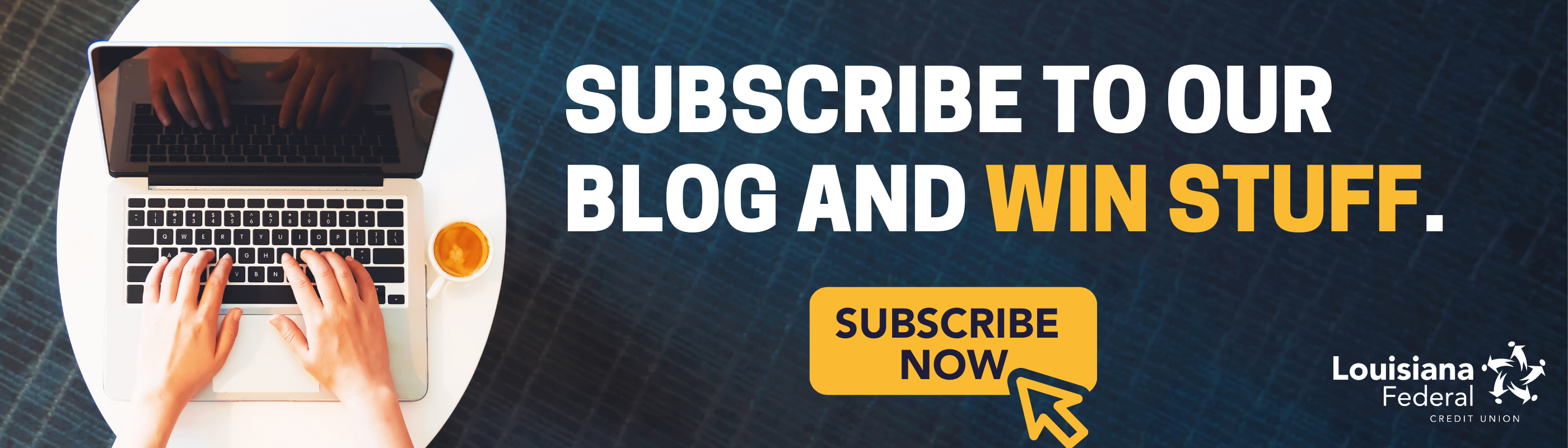 Subscribe to our blog today and enter for a chance to earn a prize