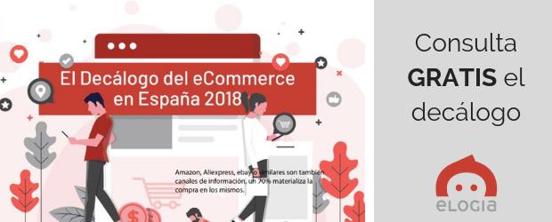 infografía estudio anual ecommerce 2018