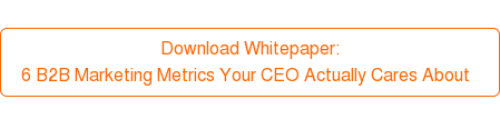 Download Whitepaper:  6 B2B Marketing Metrics Your CEO Actually Cares About