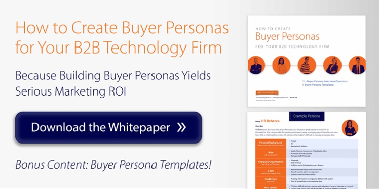 6 tips on building b2b buyer personas for your tech firm. Black Bedroom Furniture Sets. Home Design Ideas