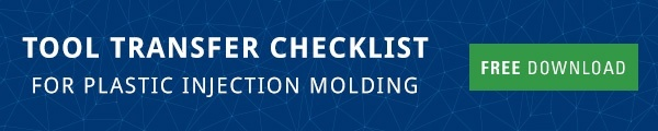 Tool Transfer Checklist for Plastic Injection Molding