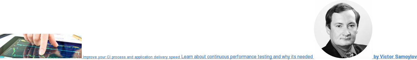Improve your CI process and application delivery speed Learn about continuous  performance testing and why its needed  by Victor Samoylov