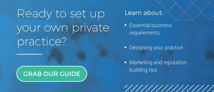 Set up your private practice ebook