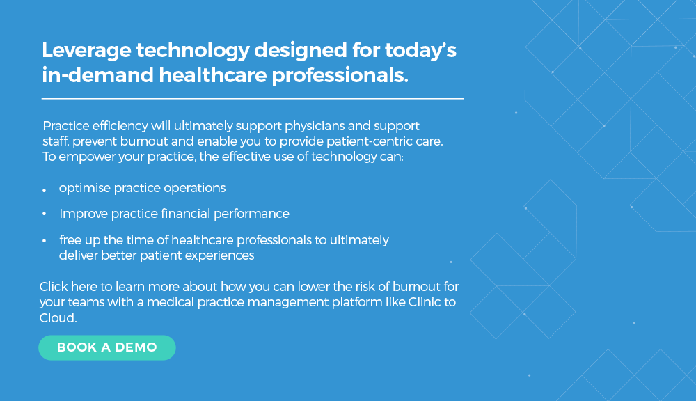 Clinic to Cloud Physician Burnout Book A Demo