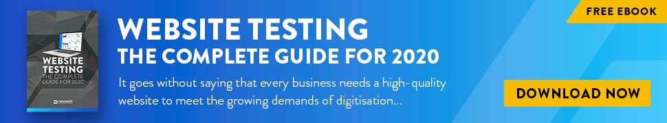Website Testing 2020 full width CTA