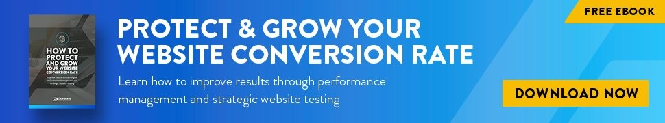 Web conversion blog CTA