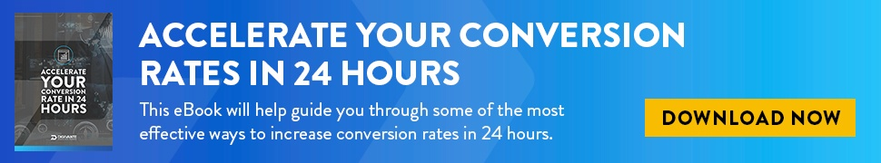 Accelerate Your Conversion Rate in 24 hours Pillar Page CTA
