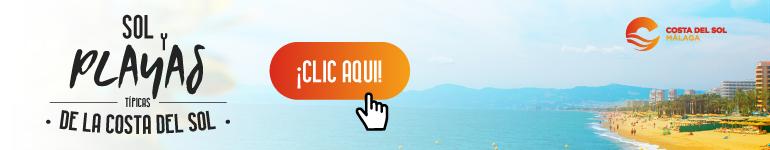 Infografía Playas Málaga