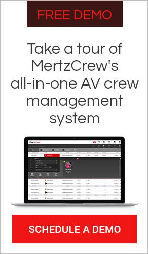av crew management system software demo