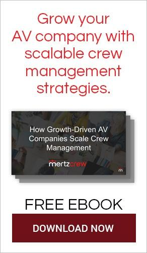 scalable-av-crew-management