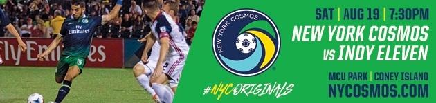 NY Cosmos vs IND 11