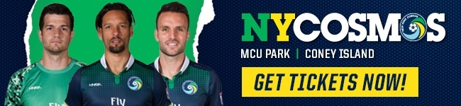 NY Cosmos - Get Tickets Now