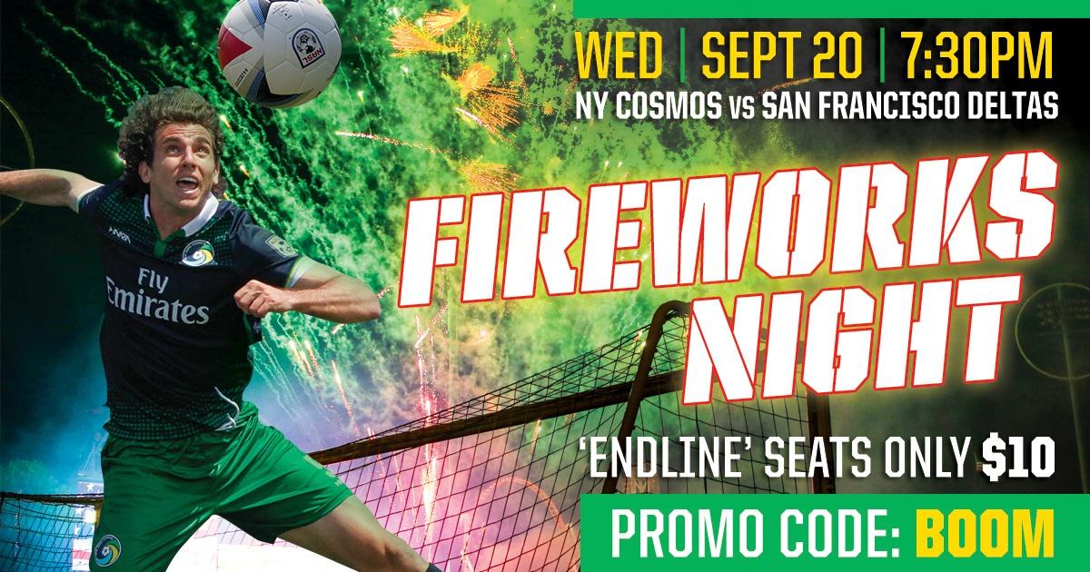 NY Cosmos Fireworks Night