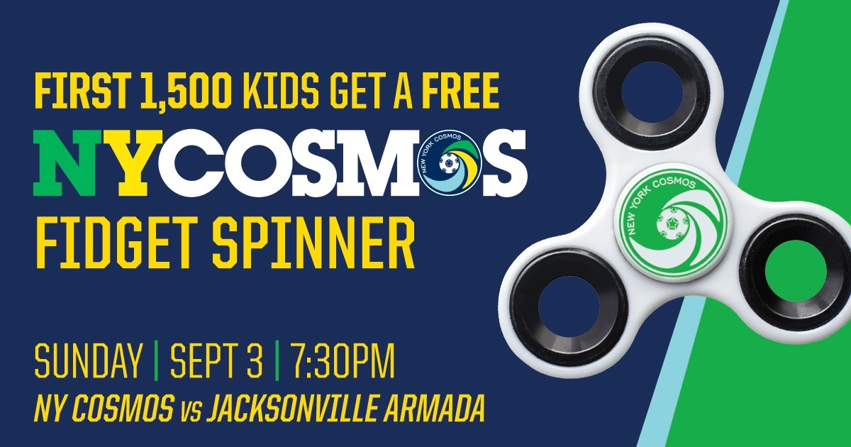 NY Cosmos Fidget Spinners