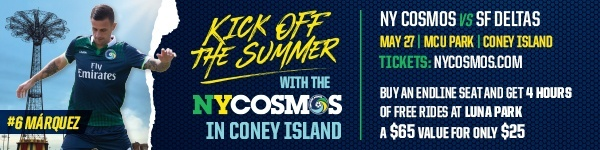 Kick Off the Summer with the New York Cosmos
