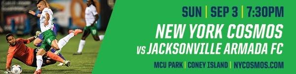 NY Cosmos vs Jacksonville Armada