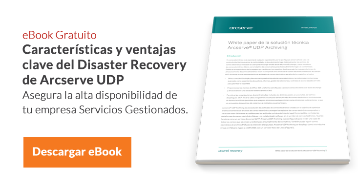 eBook Disaster Recovery SECCIÓN