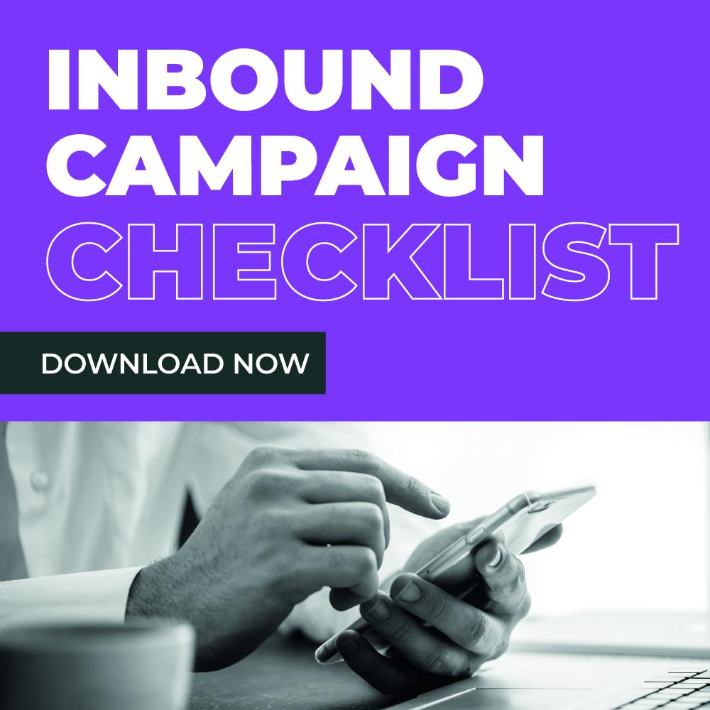 Inbound Campaign Checklist