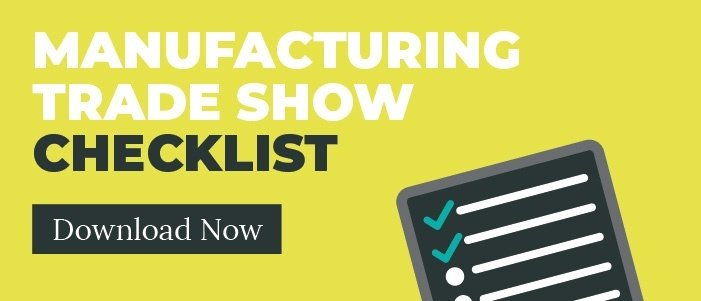 Manufacturing trade show checklist