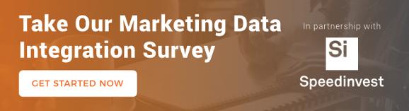 Speedinvest adverity marketing data integration survey