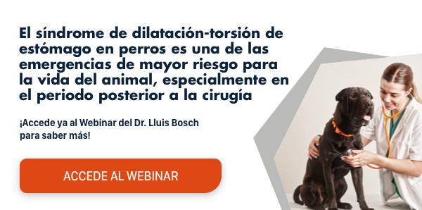 ¿Te perdiste el Webinar del Dr. Luis Bosch? Accede ahora gratuitamente y  descubre los factores predisponentes y la fisiopatología del Síndrome de  Dilatación-Torsión gástrica.