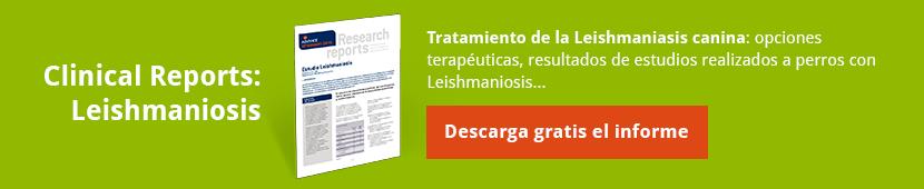 Descarga gratis el Informe completo con el Tratamiento de la Leishmaniasis  canina [Incluye: opciones terapéuticas y resultados de estudios realizados a perros  con Leishmaniosis]