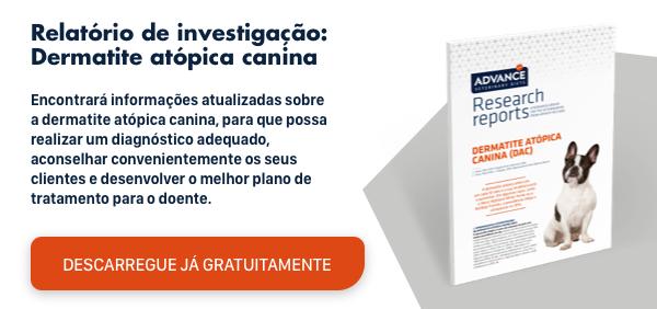 Descarregue de forma gratuita → Relatório sobre a dermatite atópica canina.