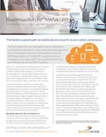 BeachheadSecure MANAGED Sales Sheet