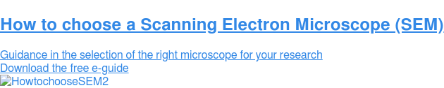 Find out which SEM system best suits your processes  Receive free SEM advice from an expert Get SEM advice
