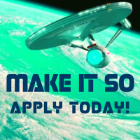 Make is so. apply today.