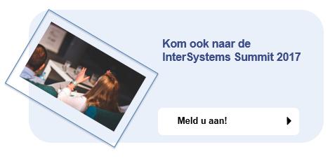 Meld u aan voor de InterSystems Summit 2017