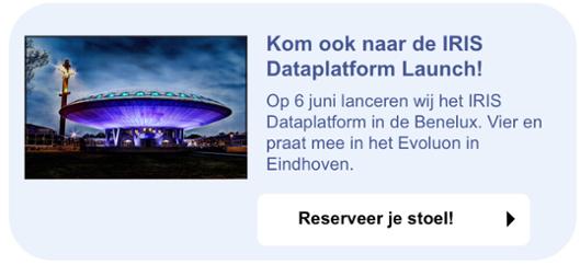 IRIS Dataplatform Launch