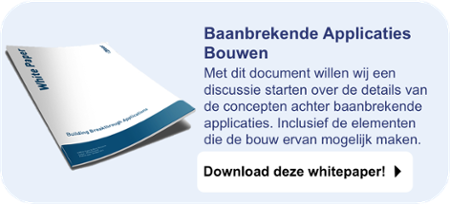 CTA Baanbrekende Applicaties Bouwen
