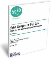 Lees het rapport van Rick van der Lans: Tekst Analyse en Big Data
