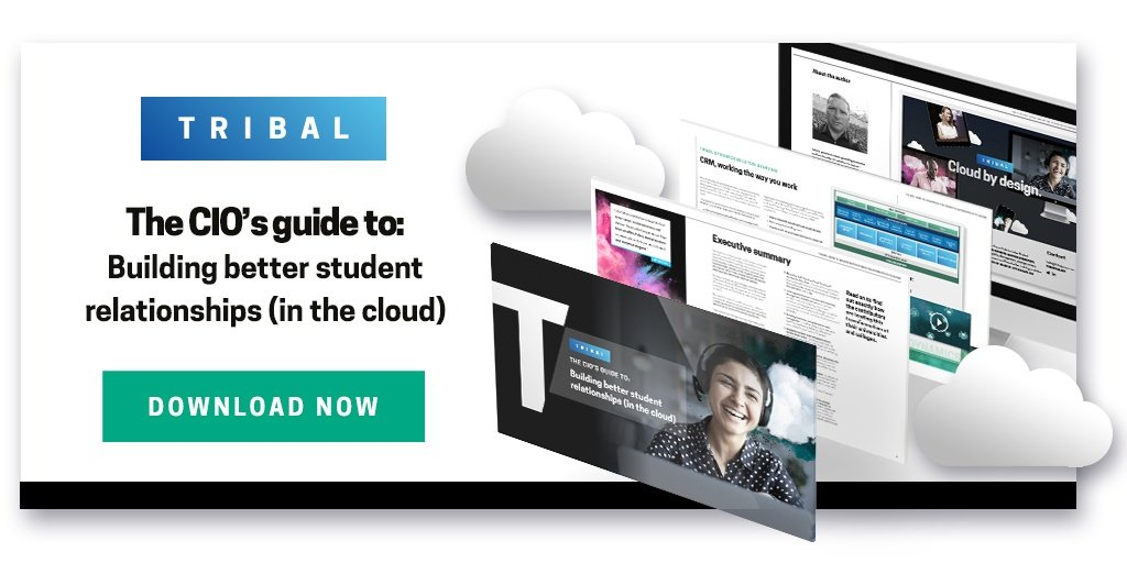 The CIO's guide to: Building better student relationships in the cloud