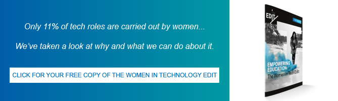 Click for your free copy of The Women in Technology Edit